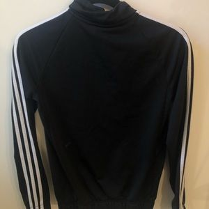 Adidas Stripped Zip-up Sweater